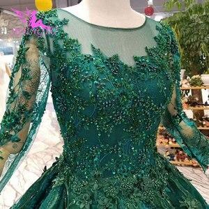 Image 5 - Aijingyu vestidos de luxo com jóias loja vestidos para casamento muçulmano federação russa plain mais noivado vestido de casamento taiwan
