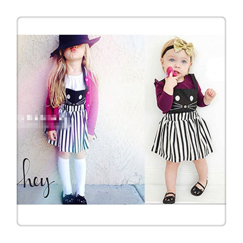 2016 Summer Sleeveless Girls Clothes Dress (5)
