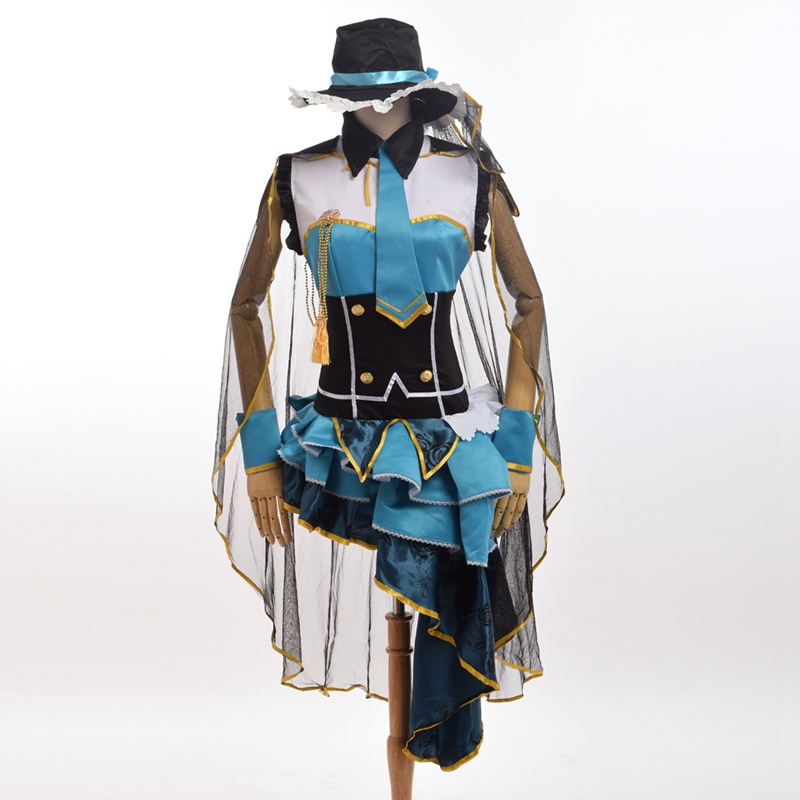1pc Ayase Eli Thief Girls Cosplay Dress Anime Love Live Costume Fancy Dress