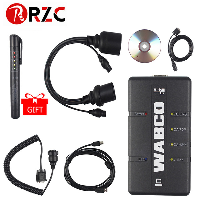 WABCO DIAGNOSTIC KIT (WDI) WABCO Trailer and Truck Diagnostic Interface High Quality supports WABCO system Auto Diagnostic tool