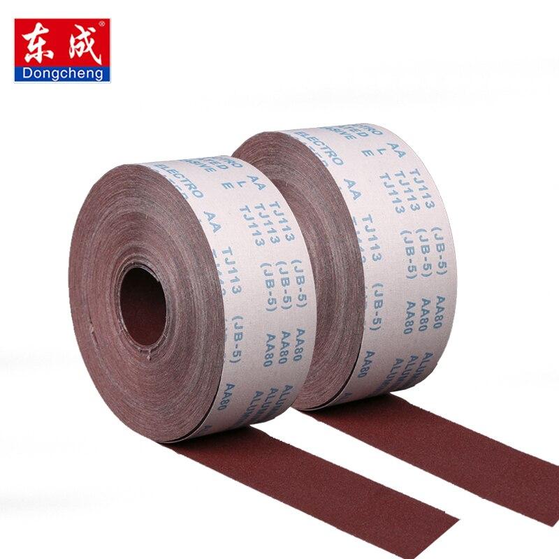 1 metro 80-600 grit emery pano rolo polimento lixa para ferramentas de moagem polimento metalurgia dremel carpintaria móveis