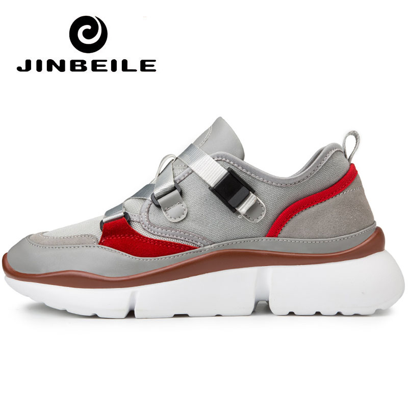 2019 Ins Hot Thick Sole Sneakers Men Star Increasing Running Trend Walking Shoes Sport Ayakkabi Bayan Breathable