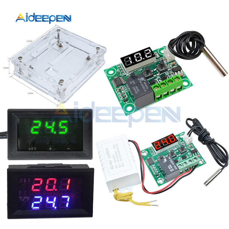 W1209WK W1209 Digital Temperature Controller Thermostat Sensor Switch 50-110°C