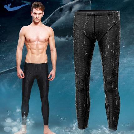 Zwemkleding Heren badpak heren sharkskin waterafstotend lange heren - Sportkleding en accessoires