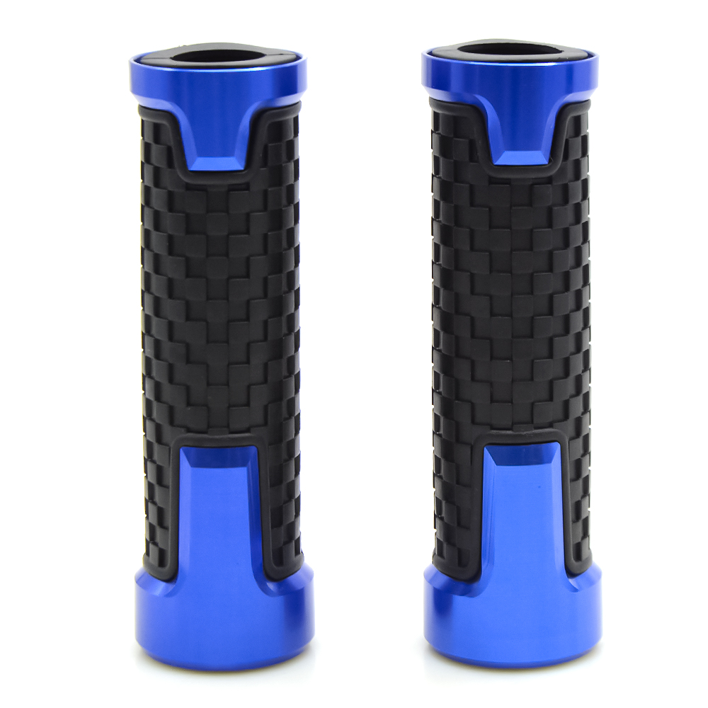 MOTORCYCLE HANDLE BAR GRIPS HANDLEBAR GRIP HAND BARS FOR KAWASAKI ZX6R ZX 6R ZX 6 R in Grips from Automobiles Motorcycles