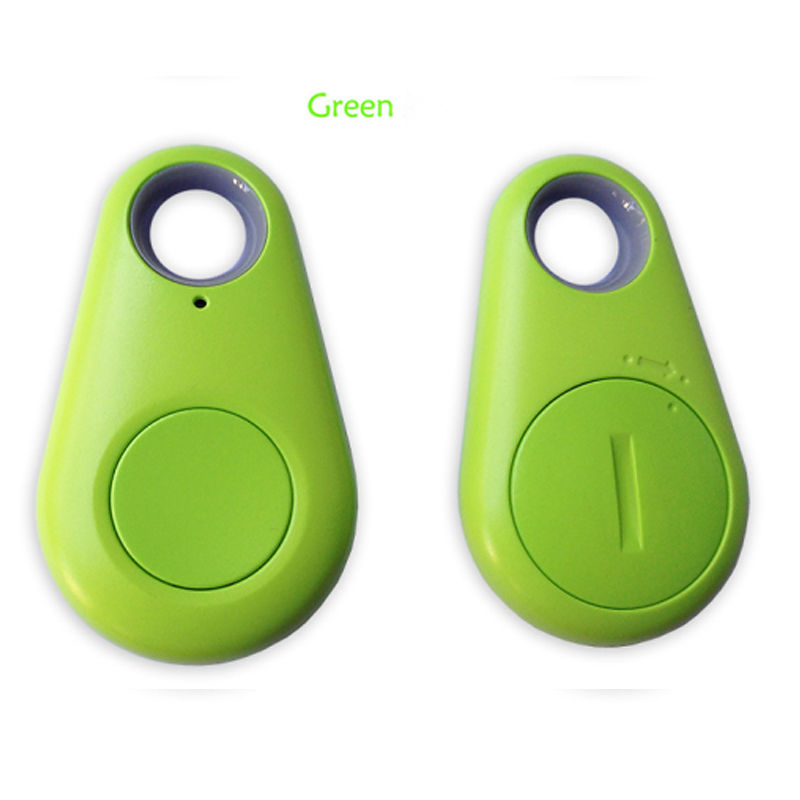iTag Bluetooth Smart Tag GPS Tracker Child Pet Bag Key Finder Locator 2Pcs Green