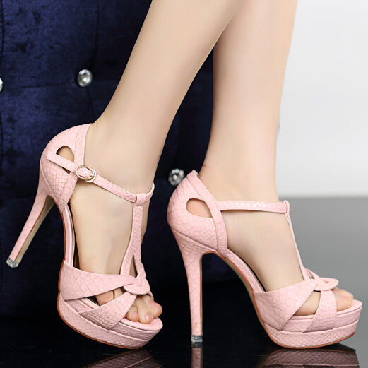 Zapatos rosas sexy para mujer Descuento al por mayor l9hVRCatiN