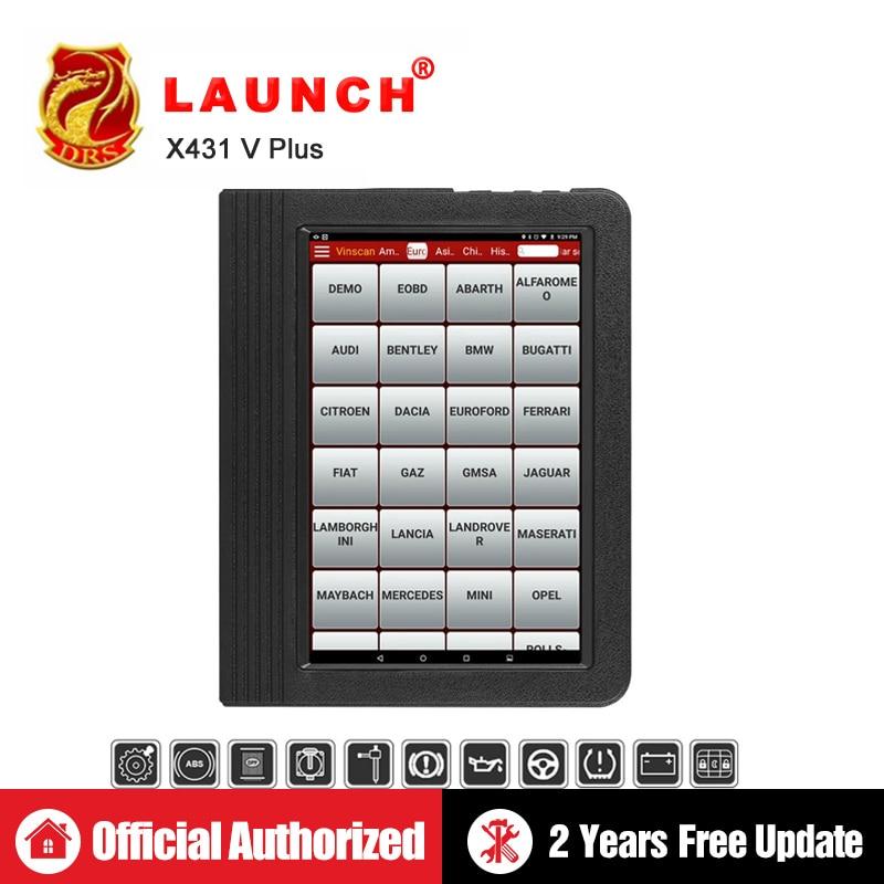 Lancement X431 V plus X431 V + OBD2 scanner de Diagnostic Automobile OBDII Auto Outil De Diagnostic De Voiture Bluetooth Wifi Complète Du Système OBD 2