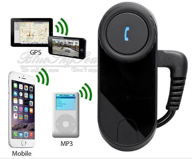 T Com 800m Motorcycle Bluetooth Headset Intercom Fm Radio Free