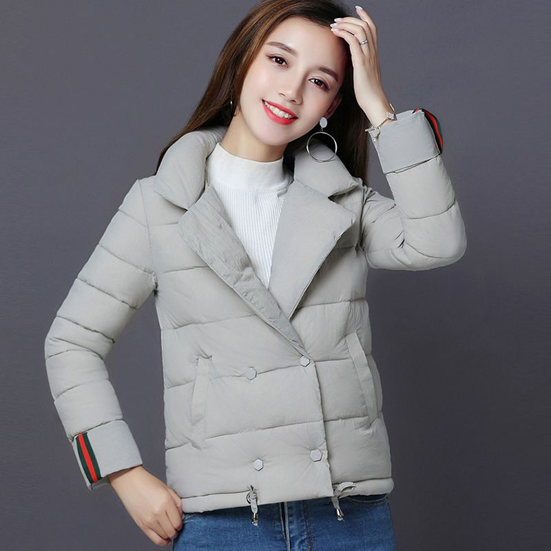 2017 Fashion Short Wadded Coats Warm Female Jackets Slim Cotton Coats Outwear Parkas Padded Ladies Winter Female Jackets FP0021 2017 new winter coats women winter short parkas female autumn cotton padded jackets wadded outwear abrigos mujer invierno w1492