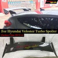 Designmyride For Hyundai Veloster Turbo Carbon Fiber Rear GT Wing Spoiler Trunk Boot Wings Spoilers Screw installation 2011 2018