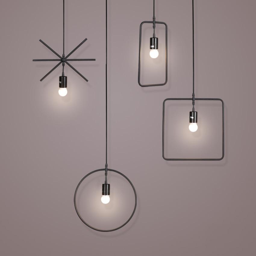 Gjeometri Art Deco Dritë varëse për dhomën e studimit të - Ndriçimit të brendshëm - Foto 2