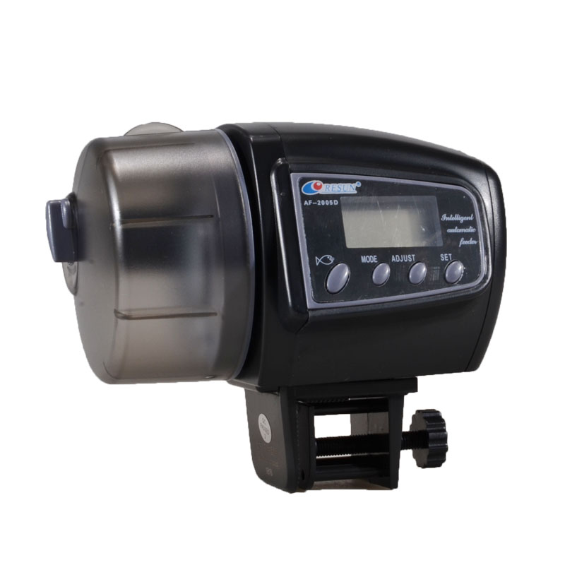 10pcsHot Sale Digital LCD Automatic Aquarium Tank Auto Fish Feeder Timer Food Feeding-in Feeders from Home & Garden    1