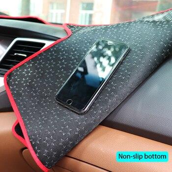 Pour Chevrolet New Sail 2010 2011 2012 2013 2014 couverture de tableau de bord inférieure antidérapante autocollants de voiture autocollants de voiture accessoires de voiture intérieure