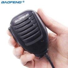 Оригинал Baofeng UV5R ручной микрофон Динамик микрофон для Baofeng Портативный радиолюбителей UV-5R BF-888S BF-UVB3 плюс портативной рации