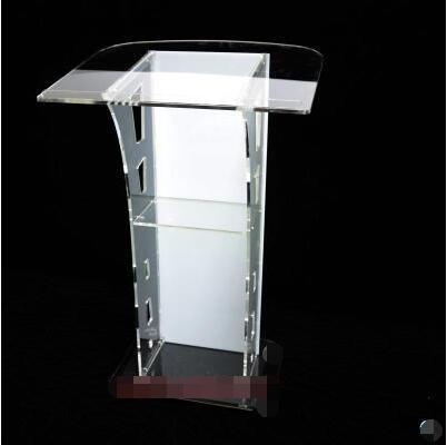 Plexiglass Podium Acrylic Reception Desk Consultation Desk Welcome Desk Conference Speaker Restaurant Service Desk