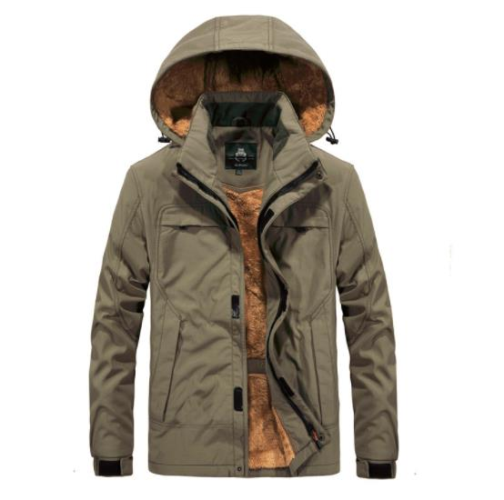 Mens Winter Warm Parkas Thick Fleece Cotton Coat Male Jackets Hooded Coats Mens Brand Clothing Men Outerwear Windbreakers To Have A Long Historical Standing Jackets & Coats