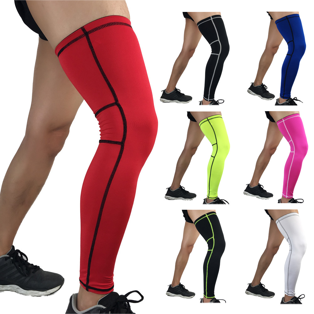 Outdoor Exercise Basketball Sports Knee Pads Support Protective Gear Leg Guards LFSPR0052