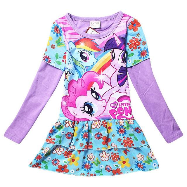 new my baby girl fashion cotton dress children clothing girls little