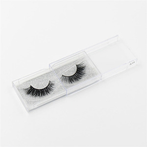 Image 5 - LEHUAMAO false eyelashes handmade real mink lashes fur long 3D strip thick fake faux mink eyelashes Makeup beauty tool A19