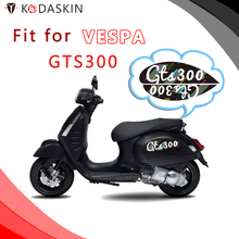 KODASKIN Motorcycle Body sticker Decal Emblem for VESPA GTS300