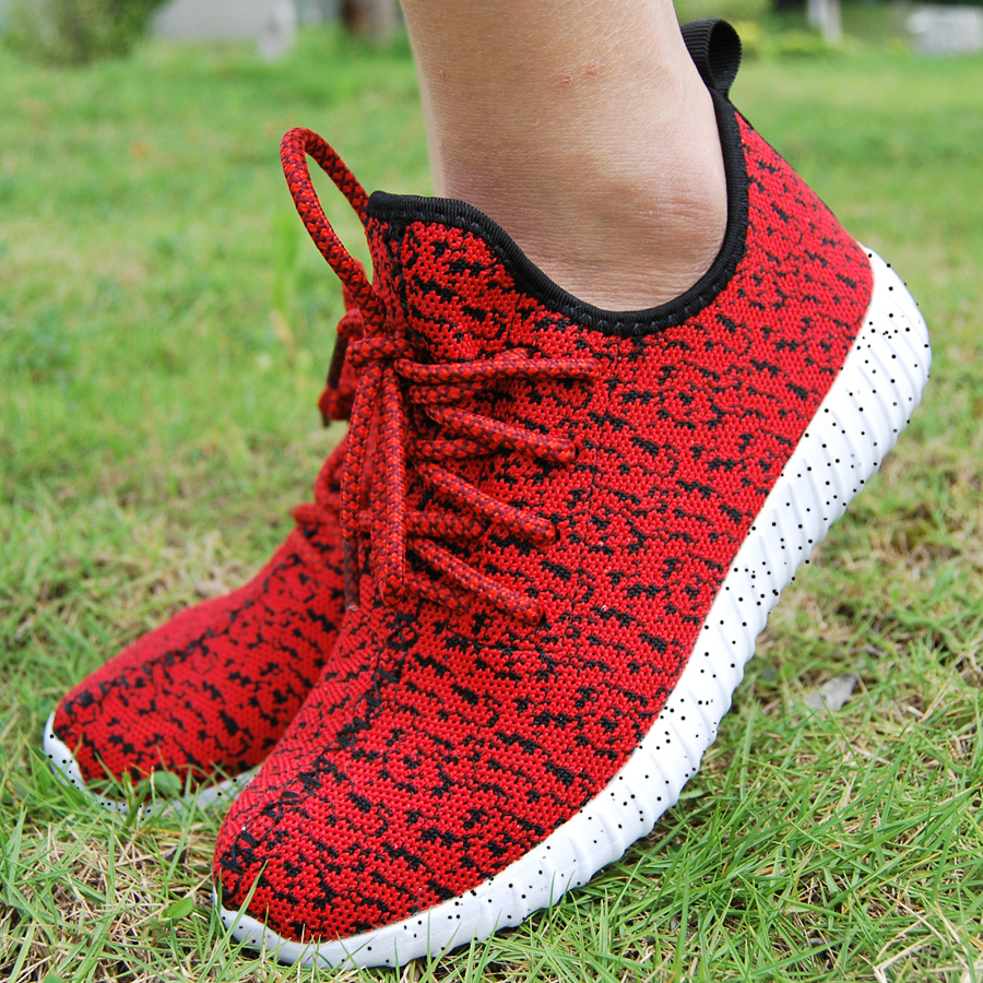 16 new black color sport shoes woman and man,new idea computer woven breathable sneakers woman & man,comfortable shoes 15