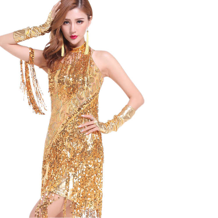 Women S 1920 20s Sequin Great Gatsby Fler Formal Vintage Themed Party Clothing Style Dresses Clothes In From