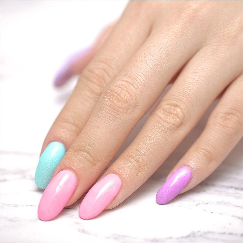 Image 5 - Azure Beauty 14Pcs/Lot Dipping Powder Nail Art Kits Base Top Nail Gel Activator Dip Powder Nail Set Gradient Color Nail Powder-in Nail Glitter from Beauty & Health