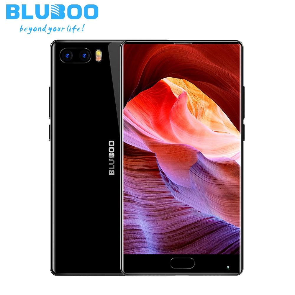 "BLUBOO S1 Smartphone MTK6757 Octa Core Bezel-less 5.5"" FHD 64G ROM 4G RAM Android 7.0 Dual Rear Cameras 3500mAh OTG Cellphone"