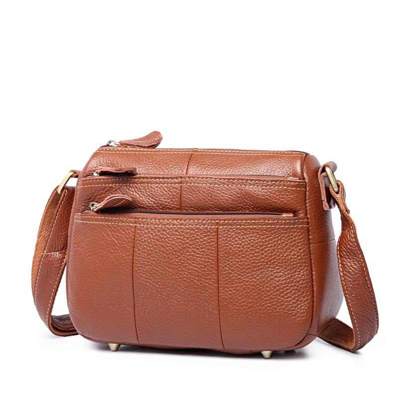 9ba2ae6fda93 2018 Горячая Распродажа! Самые Экономичные женские сумки из натуральной  кожи для девочек, модная сумка