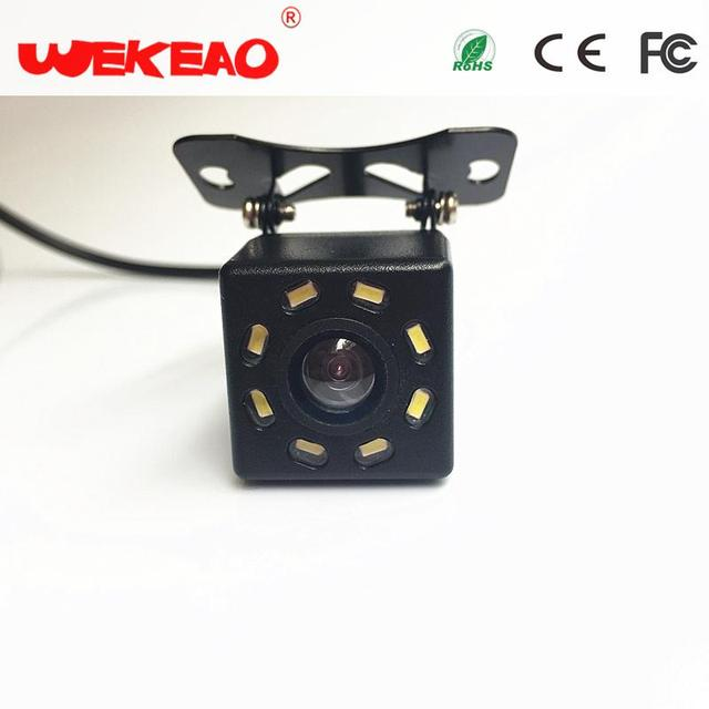 Wekeao High-qualified Wide Angle Rear Reverse View Camera Parking Assistance  Waterproof Night Vision 4K HD Alarm System