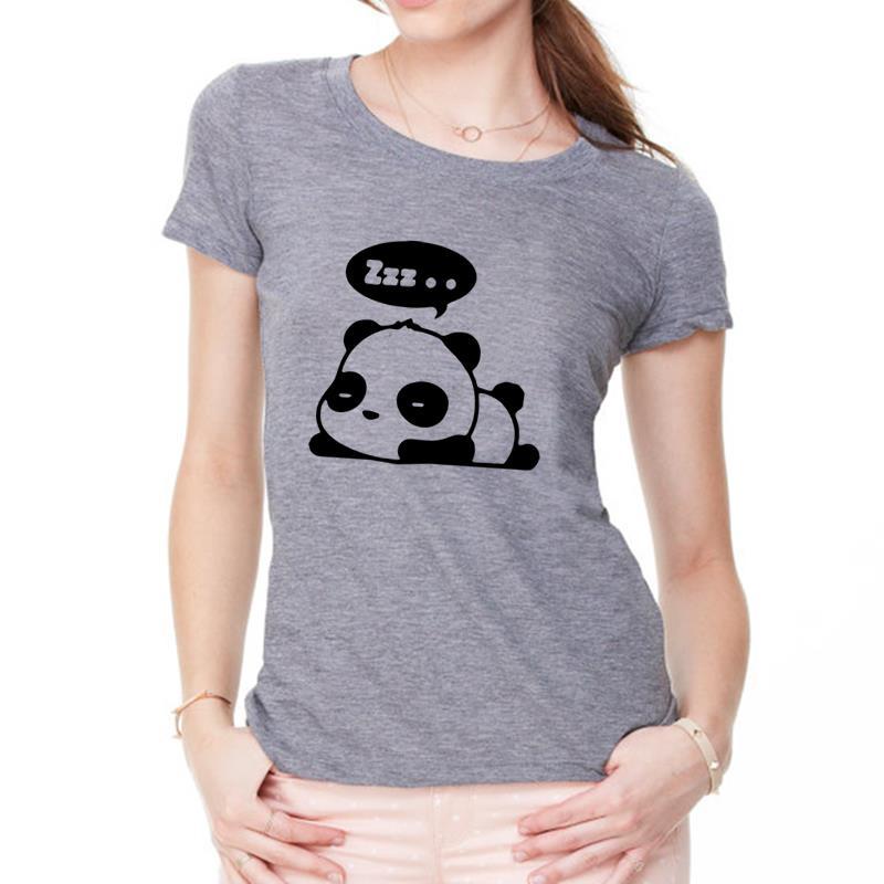 2017, Новая мода panda рисунок принт футболка Harajuku Для женщин Топы корректирующие Femme забавные tumblr японский Wonder Woman