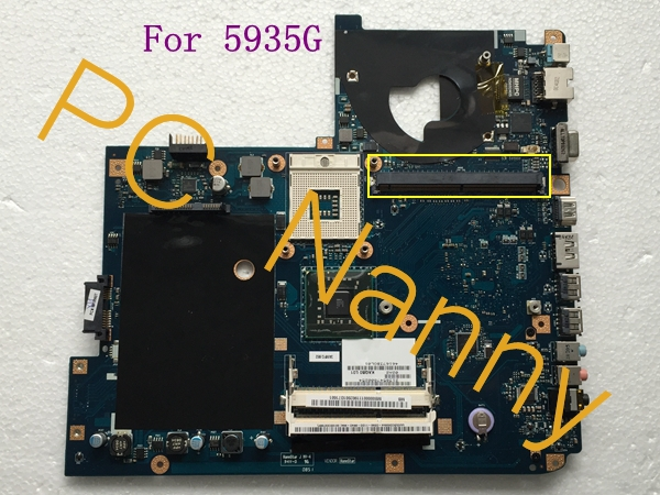 MB00000111 KAQB0 LA-5011P For Acer Aspire 5935G Notebook Intel gm45 Motherboard s478 w/ Graphics slot + free CPU fully working