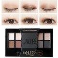 2016 New Arrival Limitada Long-lasting 12 Cores Shimmer Matte Sombra Terra Cor da Sombra de Olho Maquiagem Paleta Cosmética Nu