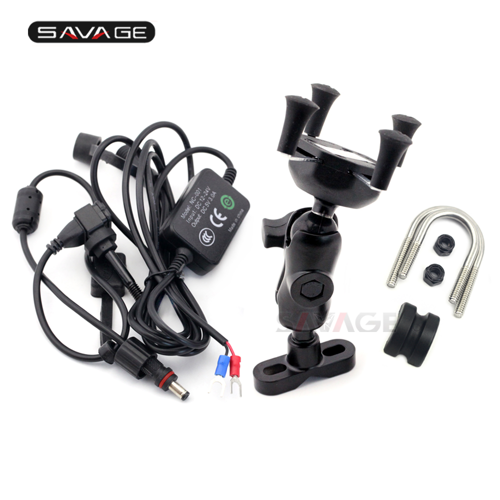 Hot Sale Mobile Phone Holder Usb Charger For Triumph Bonneville T100 Wiring To Motorcycle T120 Thruxton 900 1200 R Gps Navigation Mount Bracket