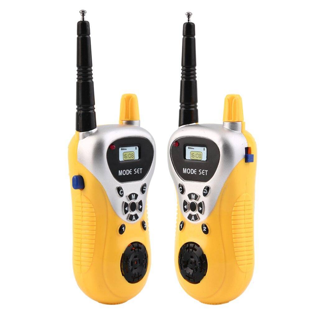 Intercom Electronic Walkie Talkie Kids Child Mini Handheld Toys Portable Two-Way Radio Intercom Boys Girls Birthday Xmas Gift