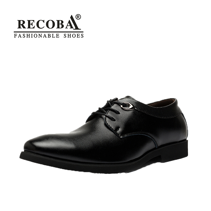 Mens casual shoes artificial leather business formal dress shoes mens wedding oxfords shoes party shoes