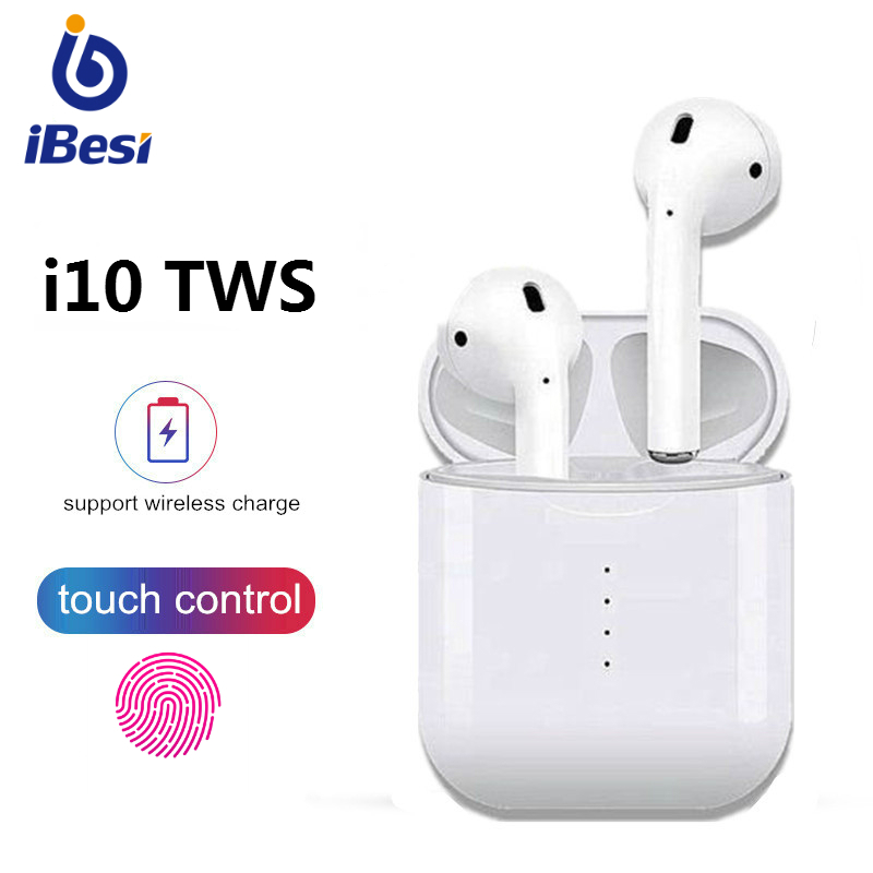 $28.97 iBesi i10 tws Bluetooth Earphones Wireless Headphones Bass Headset Stereo Earbuds with Charging Box for iPhone Xiaomi All Phone