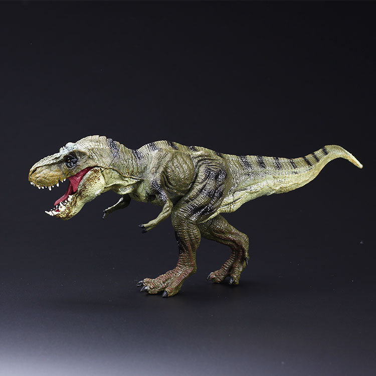 New Jurassic World Park Tyrannosaurus Rex Dinosaur Plastic Toy Model Kids Gifts Long:31CM Solid model 32cm jurassic animal model biology world park spinosaurus dinosaur model dinosaur plastic toy decorate gifts for children
