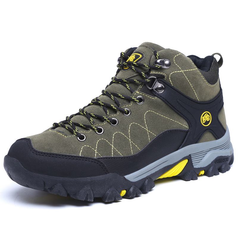 Shoes Hiking Outdoor-Sports Boots Waterproof Breathable New And Warm Men Non-Slip-Wear