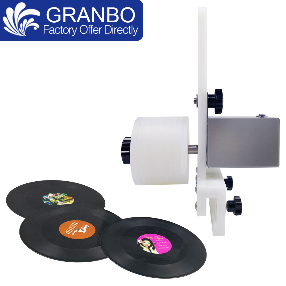 Vinyl Record Washer Auto Bracket Gramophone LP Disc Album Holder for Rotating Cleaning Power Supply Engine Lifter