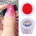 1 Box  Pink Jelly Gel 5g Semi-transparent Soak Off Manicure UV Gel Polish Harunouta