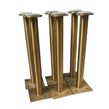 4Pcs 60*160mm 60*210mm Gold bronze Furniture Cabinet Cupboard Adjustable Metal Legs Table feet - Verified Lab Test Supports