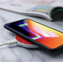 Mobile phone wireless charger for charging iphone XS MAX XR X fast mobile