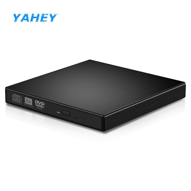 USB 3.0 External writer DVD/ CD RW DL DVD Slim optical drive 8x CD/DVD-ROM player Burner Portable for windows 7/8/10 XP Linux
