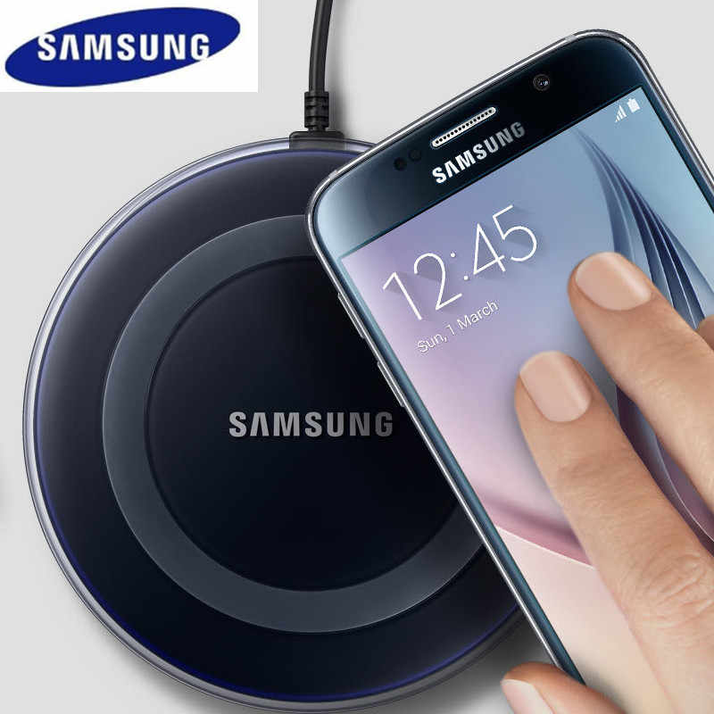 Original samsung QI wireless 5v 2a charger micro usb cable charge adapter for galaxy S7 edge S8 S9 S10 S10e Note 4 5 7 8 iphoneX