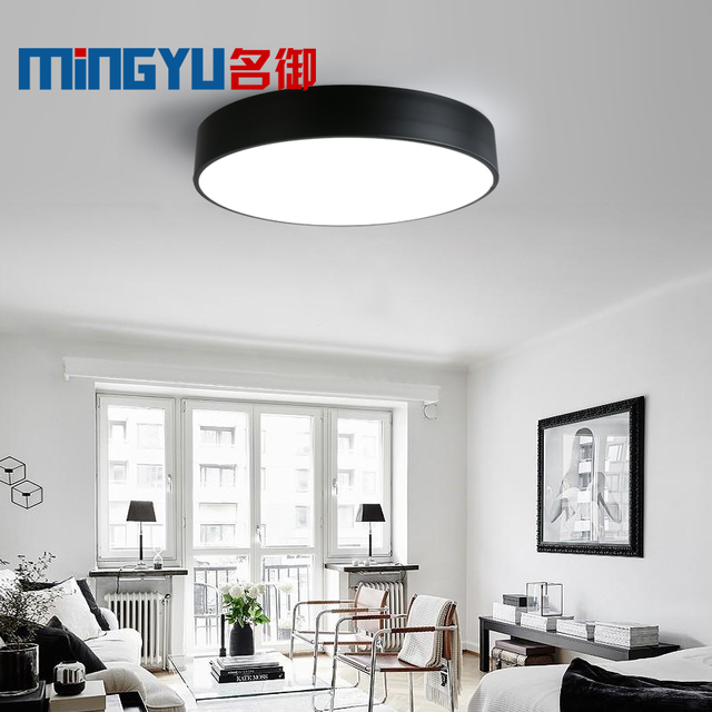 Surface Mount Modern Ceiling Light Led Lamp Living Room Bedroom Bathroom Remote Control Home Decoration Kitchen Lighting Fixture