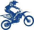 Menino Cartazes de Equitação Da Motocicleta Motocross Da Bicicleta Da Sujeira Corrida Esportes Decalques Adesivo De Parede Adesivos de Parede Para Meninos Quarto Decoração de Casa