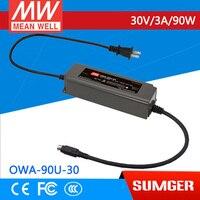 1MEAN WELL original OWA-90U-30 30V 3A meanwell OWA-90U 30V 90W Single Output Moistureproof Adaptor
