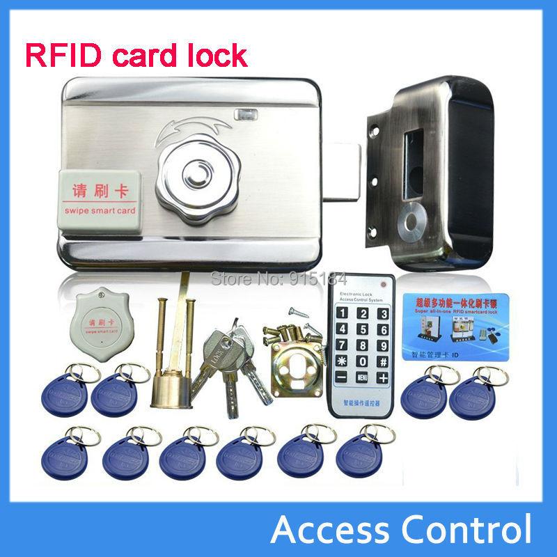 Electronic Lock Diy Kit Dc 12v Integrated Rfid Card